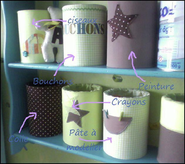 Très DIY*° Que faire des boîtes de lait en poudre vides de bébé ? ⋆ So  XG74