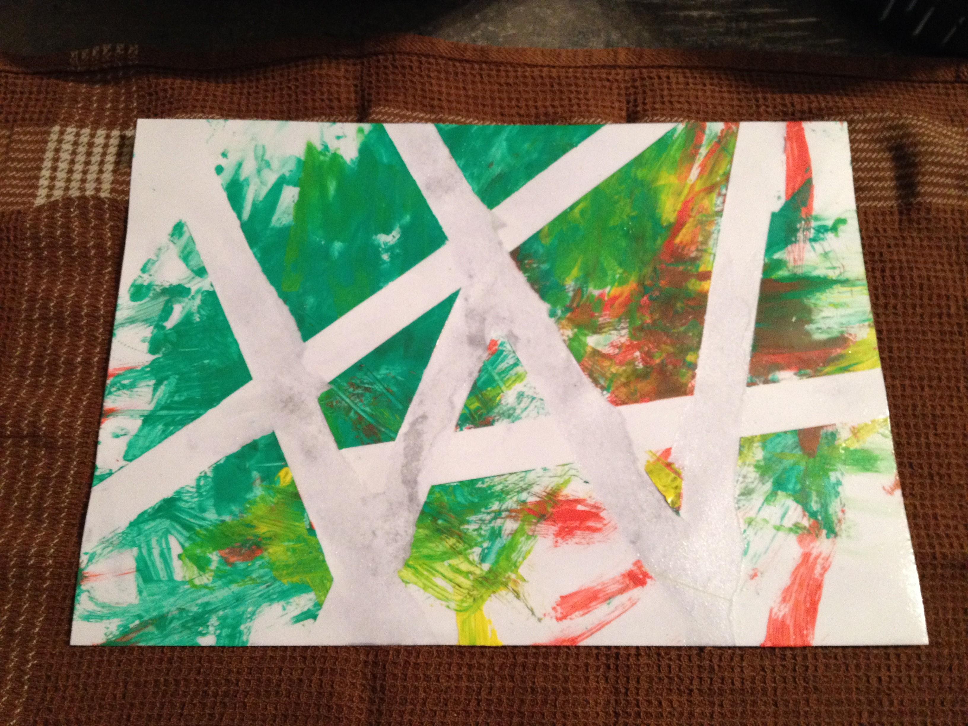 somummy-atelier-peinture-scotch-oeuvre-d'art-activite-enfant-bebe-blog-maman-4