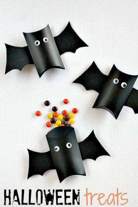 Diy id es d co de r cup pour halloween so mummy - Deco halloween chauve souris ...