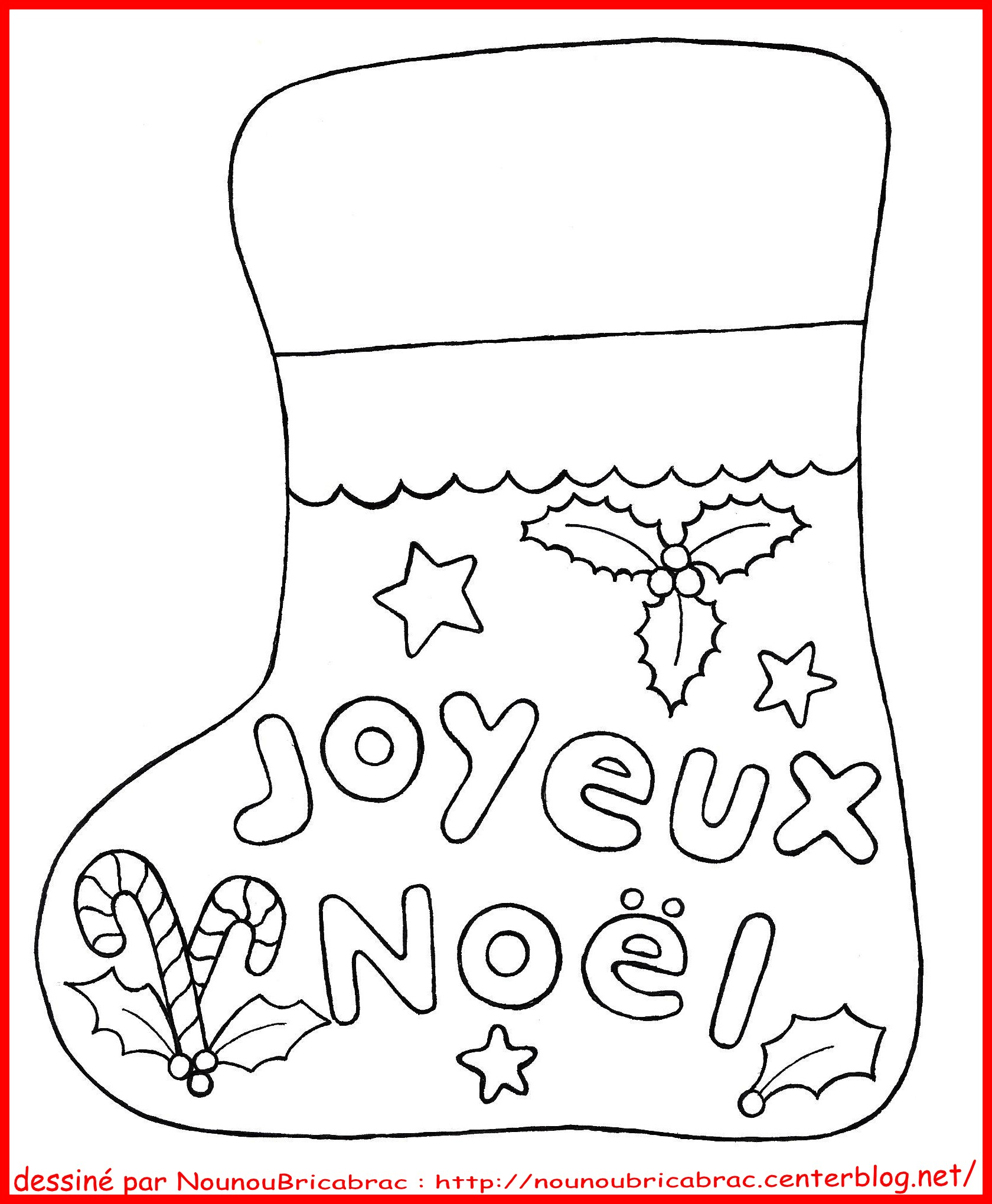Des coloriages de no l gratuits t l charger so mummy - Dessin facile noel ...